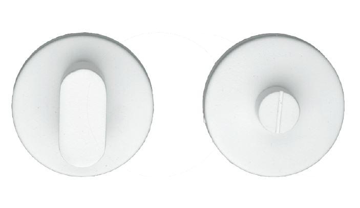 WC-Garnituur, I Shape rond wit